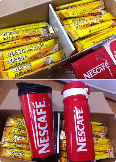 Nescafeインスタントコーヒーを買ったらこんなおまけが付いてきた!