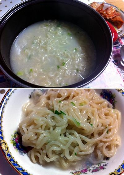 韓国インスタント麺、白いスープの元祖は「サリゴムタン麺」