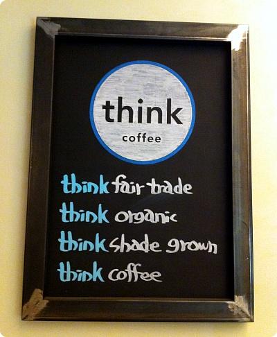 ニューヨークのThink coffeeをアックジョンで!