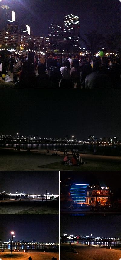 夜のハンガンは熱い!韓国人の夜の遊び方!!