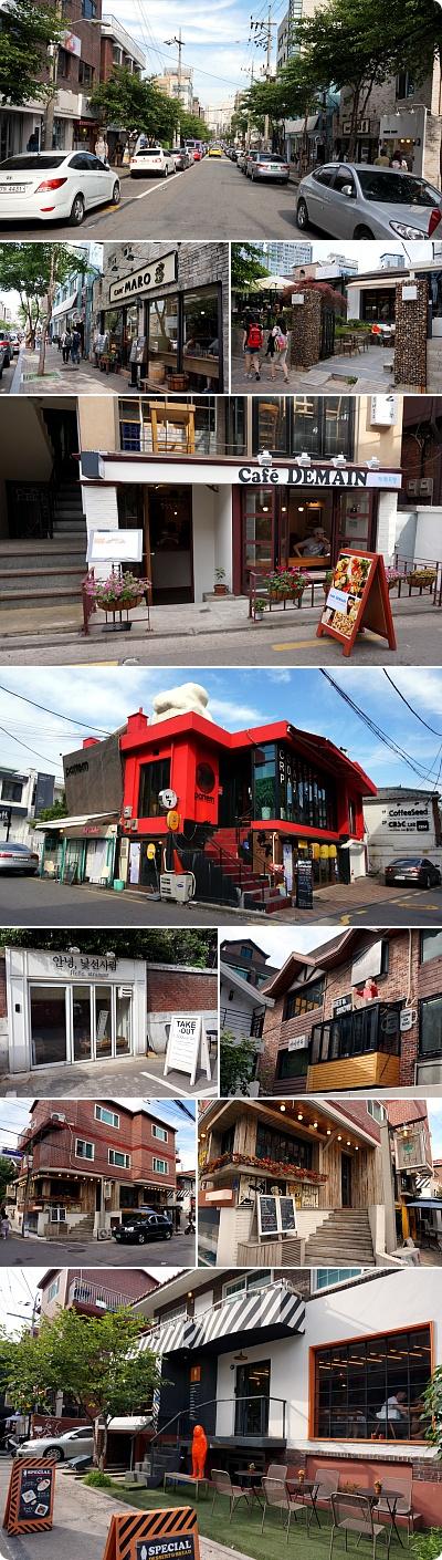 合井(ハプチョン)カフェ街散歩!