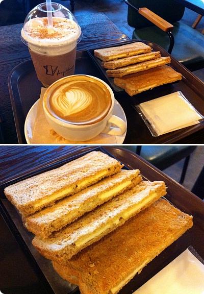 カヤトーストを食べに行くカフェ「Kopitiam」淑大店は特別な雰囲気