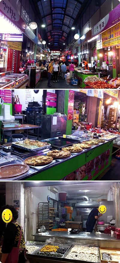 秋夕「チュソク」前日、市場の風景