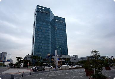 インチョンの新都市PARK HOTELになう!!