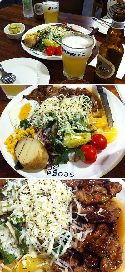 ビッグサイズステーキが大人気の「seoga&cook」
