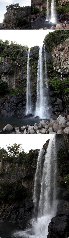 チェジュ島の自然に会う(チョンジヨン&チョンバン滝)
