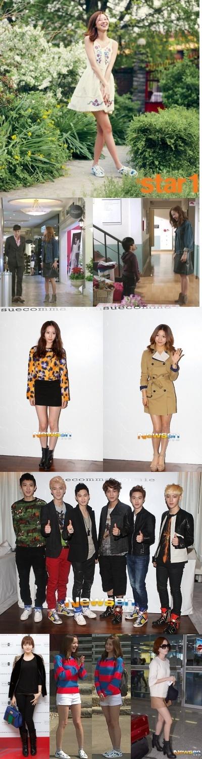 韓国芸能人が愛する韓国のシューズブランドをご紹介!