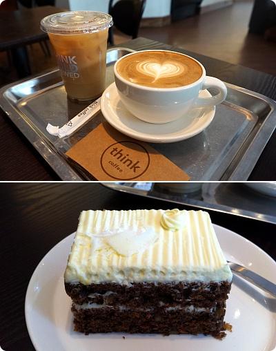 NY発「Think Coffee」でキャロットケーキを!