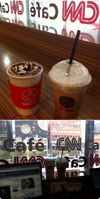 江南で勉強するには最適なカフェ[CNN cafe]