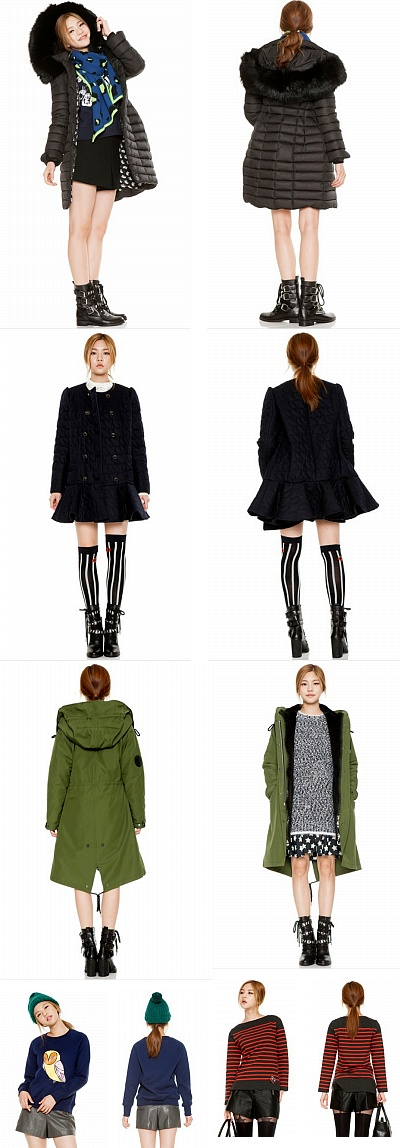 韓国の人気ブランドから見た今冬のファッション