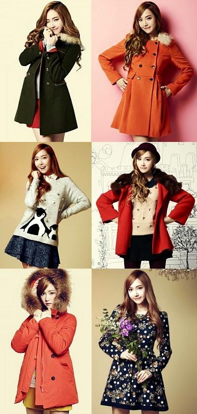人気スターがモデルのファッションブランドの冬アイテムを紹介します!