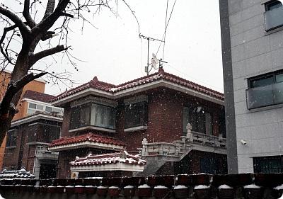 今日のソウルは雪!午後の風景