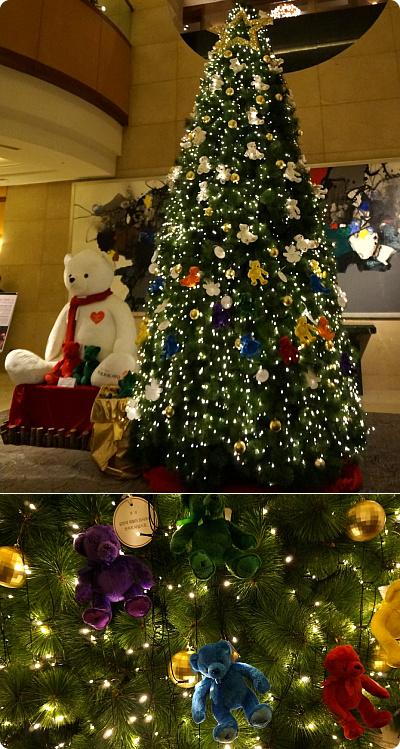 今年のクリスマスは「JW マリオット ホテル」へ