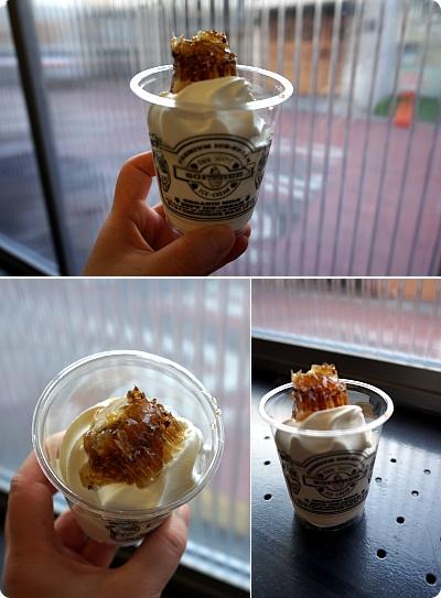 少女時代も食べた、カロスキル超人気ハニーチップソフトクリーム「SOFTREE」