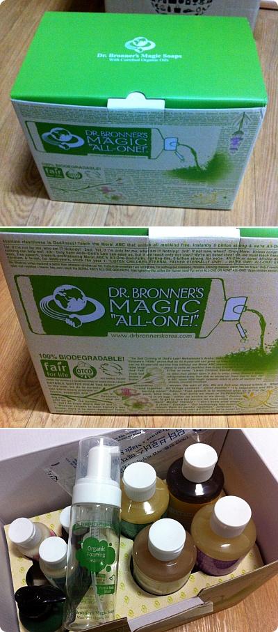 女優も愛用する「ドクターブロナーズ マジックソープ」8種類購入!