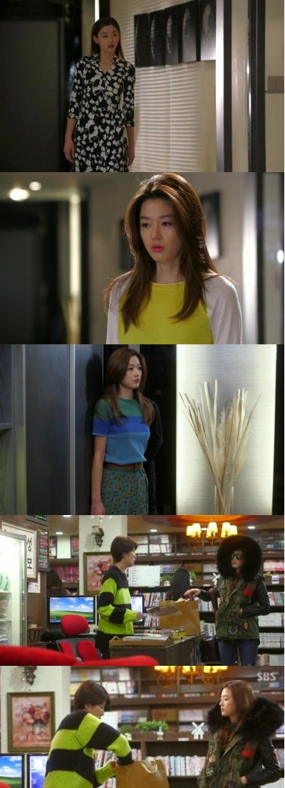 大人気ドラマ「星から来たあなた」の中チョン・ジヒョンのファッション