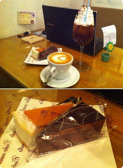 ケーキが1000ウォン!昔ながらの韓国カフェ「MartysCoffee」