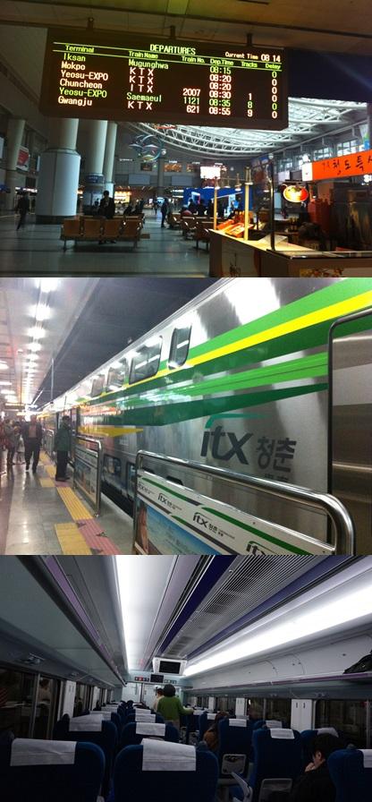 ITX青春列車に乗って春川(チュンチョン)旅へ!