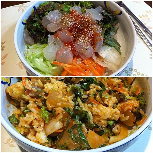オンマのうちご飯「フェドッパ」韓国風の海鮮丼