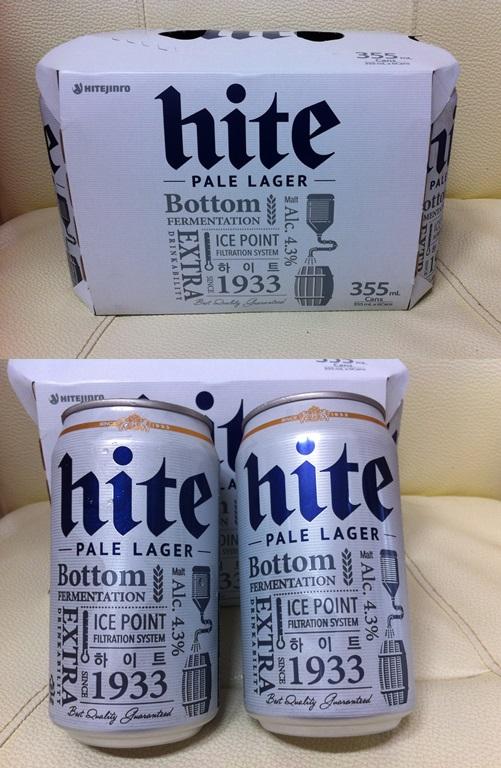 ヒョンビンの「All New hiteビール」新しくなったhiteビール!