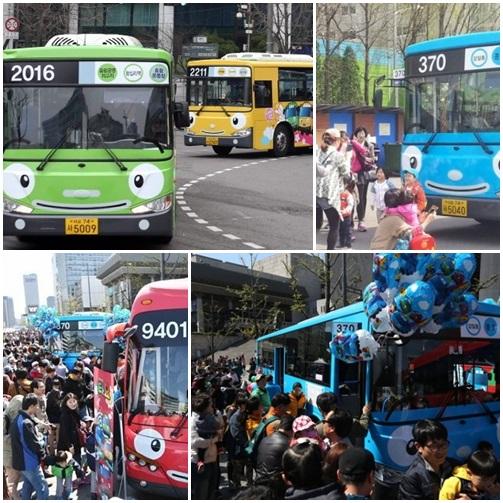 タヨバスに会った!子供に爆発的な人気!
