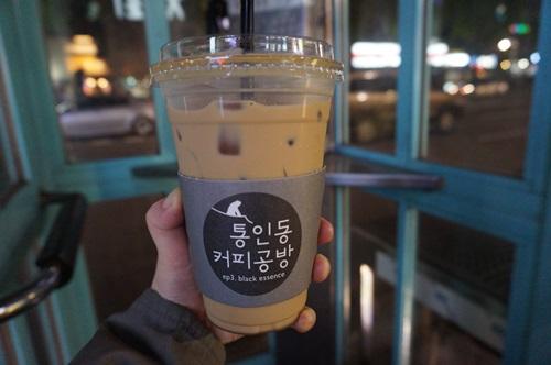 「トンインドン・コーヒー工房」雰囲気ある西村カフェ!