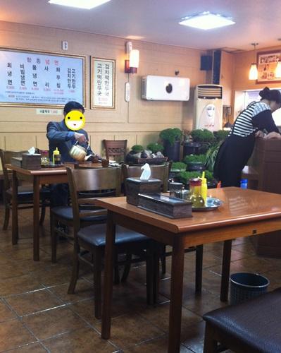 ヨンドンポ駅50年冷麺名家「咸興冷麺(ハムンネンミョン)」