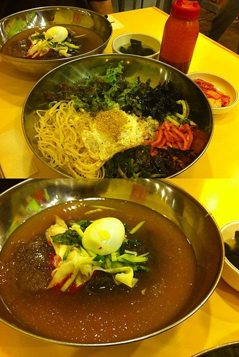 ナムピョンと食べた冷麺を思い出す!