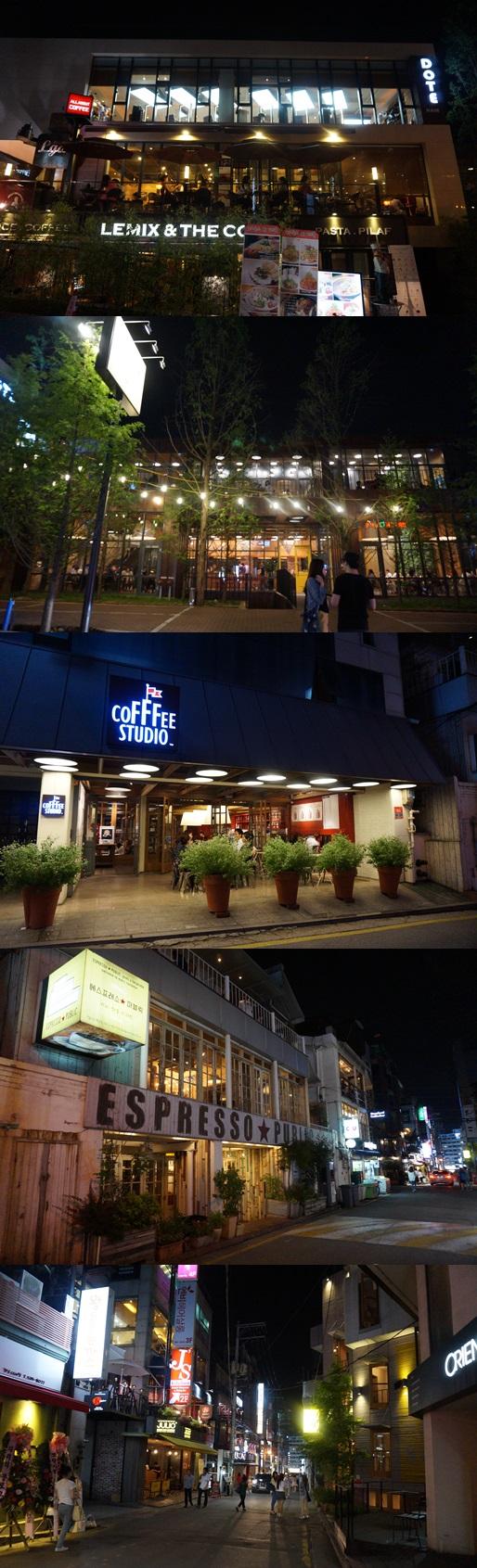 カンナムのホットスポット「シンノニョン駅」カフェ街