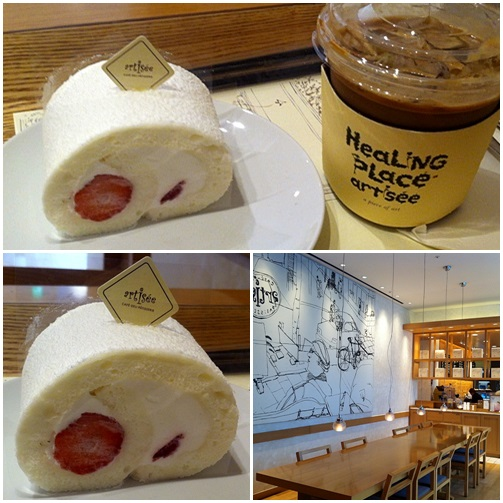 カンナムのOLに大人気カフェ「artisee(アティジェ)」でデザート