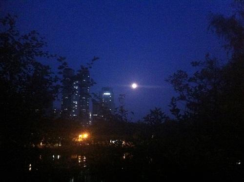 今年のチュソクはこんな感じでした!「ソンピョン・満月を見て願いを祈る」