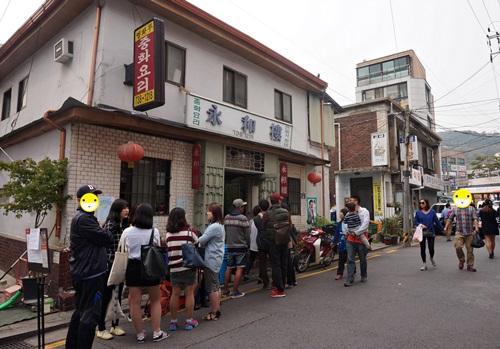 西村(ソチョン)にある行列の出来る人気スポット!①
