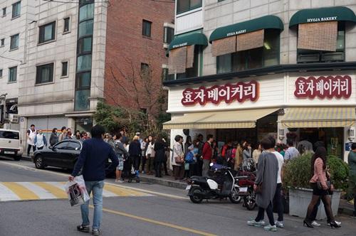 西村(ソチョン)にある行列の出来る人気スポット!②