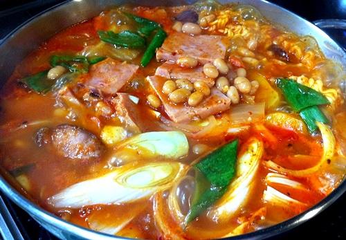 今朝ソウルはマイナス2度!うちご飯は「プデチゲ」