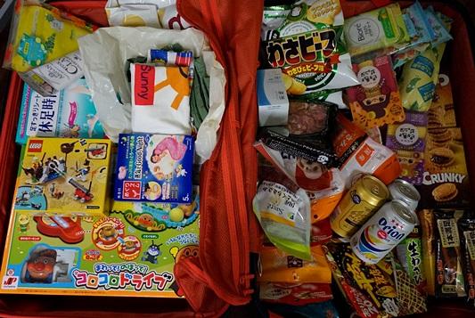 韓国行き!スーツケースの中を公開!こんなのを買っていきます!