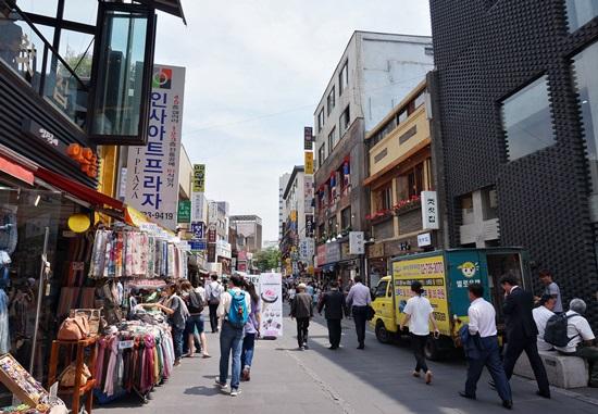 韓国伝統人形を買いにインサドンへ!