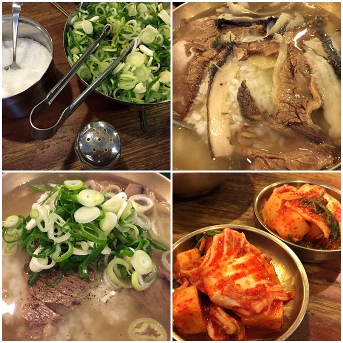 明洞「河東館(ハドングァン)」初めて食べてみました!
