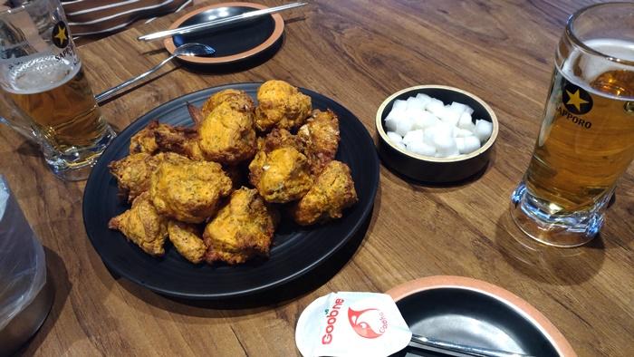 グッネチキン福岡天神店で食べた韓国チキン!