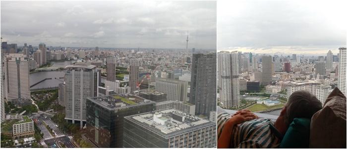 日韓夫婦★10年ぶりの東京、三井ガーデンホテル豊洲ベイサイドで宿泊、月島でもんじゃ焼き!