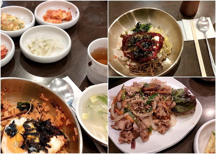 福岡韓国食堂「釜山亭 博多店」でランチ